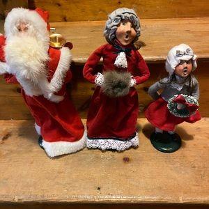 Genuine vintage Byers choice Christmas carolers